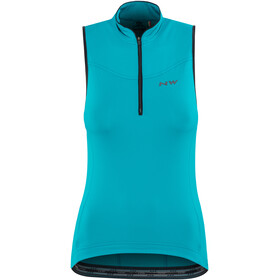 Northwave Muse Bike Jersey Sleeveless Women blue